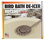 Allied Precision BDT250 Bird Bath De Icer Multiple Thermostat, 250-Watt