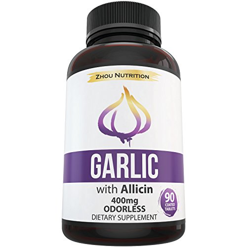 Garlic with Allicin for Intense Immunity Support & Heart Health - Enteric Coated