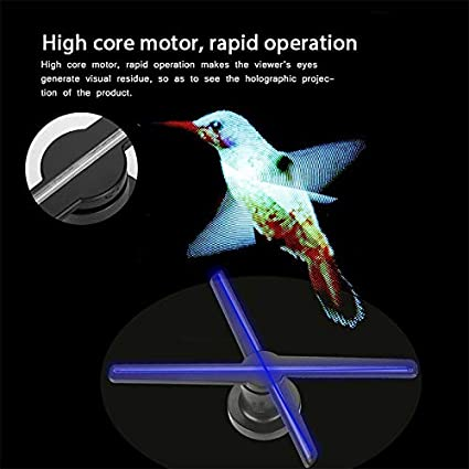 Link Co Proyector holográfico 3D 42 cm de rotación ...