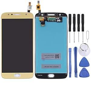 YANCAI Repuestos para Smartphone para Motorola Moto G5S Plus Pantalla LCD y Digitalizador Ensamblaje Completo (Negro) Flex Cable (Color : Gold): Amazon.es: Electrónica