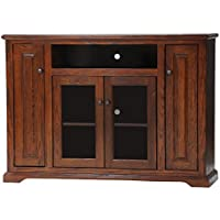 American Heartland Oak Tall Deluxe Entertainment Console in Medium
