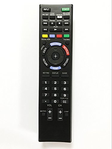 Replacement Remote Controller use for XBR-70X850B XBR-65X850B KDL-40W600B KDL-32W700B Sony HD Smart LED TV