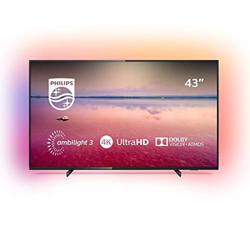 Philips TV Ambilight 43PUS6704/12 43 inch LED Smart TV Black