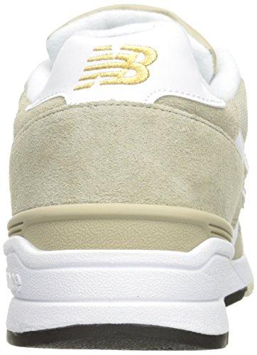 New Balance 597, Zapatillas para Hombre Trench/White