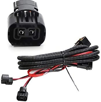 Driving Light Bulb Wiring Harness Fast Shipping/>/> 2003-2007 Cadillac CTS Fog