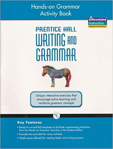 Amazon com: Prentice Hall Writing and Grammar: Hands-on