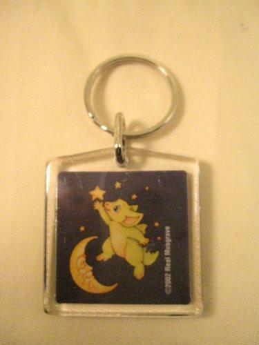 Pocket Dragon Key Ring - Reach For The Stars