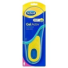 Scholl Active Everyday Insoles Gel for Women