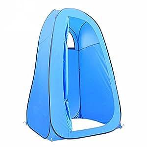 Cambiador automático Pop-up habitación para acampada al aire libre tienda de campaña playa de aliños para privacidad para inodoro