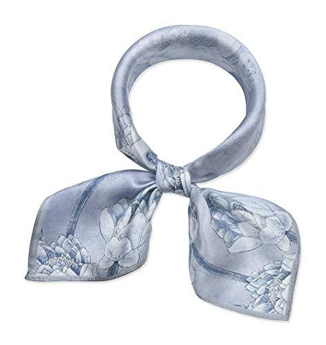 corciova 21 Inches 100% Real Silk Neck Scarf Small Square Scarves Neckerchiefs