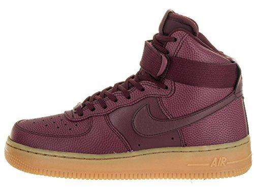 Nike Air Force 1 Hi SE Women's Shoes Night Maroon 860544-600 (11 B(M) US)