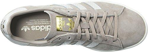 Adidas Originals Women's Campus W Sneaker, Vapour Grey/Pearl Greywhite/Chalk White, 10 M US