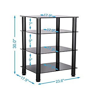 Watch Out For Scratched Shelf Paint And Use Amazonu0027s Picture To Aid In  Assembly. Before You Assemble The Unit Make Sure The Shelves Are Not  Scratched.