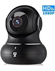 Wireless Indoor Home Security Camera - 1080P Littlelf IP Pet Camera WiFi Surveillance Baby Monitor with 2-Way Audio, 3D Panorama, Cloud Service, Remote Detect for iOS/Android, Night Vision