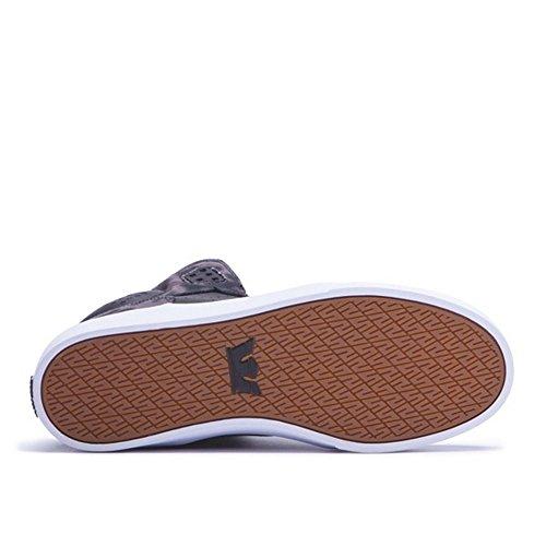 Supra Heren Atoom Zwart / Zon Gebleekt Canvas Sneaker Heren 11 D (m)