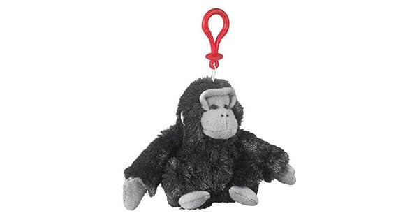 Amazon.com: Gorilla peluche negro animal de peluche gorila ...