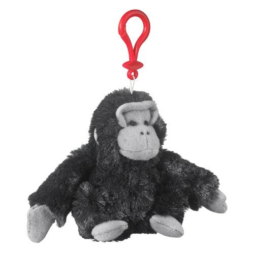Gorilla Stuffed Backpack Keychain WildLife product image