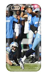 Iphone 6 Hard Back With Bumper Silicone Gel Tpu Case Cover Tennessee Titans