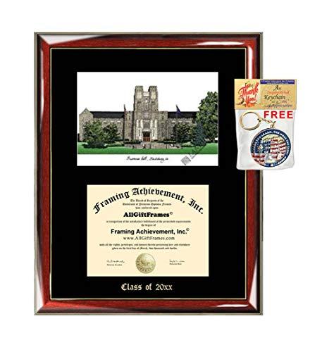Virginia Tech University Diploma Frame Emboss Lithograph VT University Diploma Frames Graduation Gift Graduate Alumni Student Certificate Holder