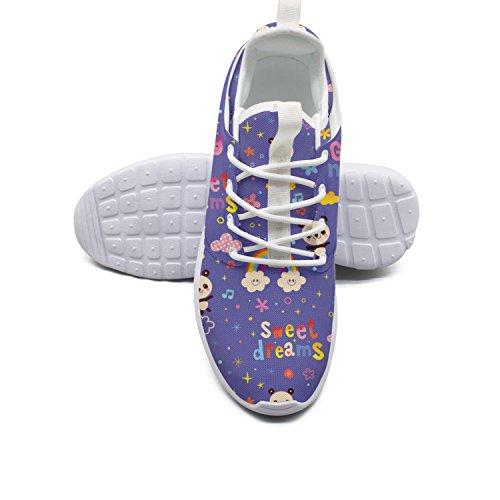Blue Beautiful Lightweight Women Panda Running White Sports 17 YANYANGer Shoes Bear qI5f6Ix