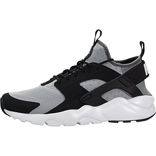 nike air huarache run ultra mens running trainers 819685 sneakers shoes (US 10.5, wolf grey white black cool grey 010)