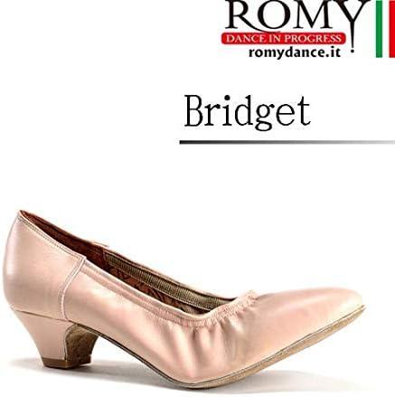 (ロミーダンス)ROMY dance「Bridget(レディース スタンダード ダンスシューズ)」|女性|レディース|シューズ|ダンス|社交ダンス|スタンダード  38(23.7cm)