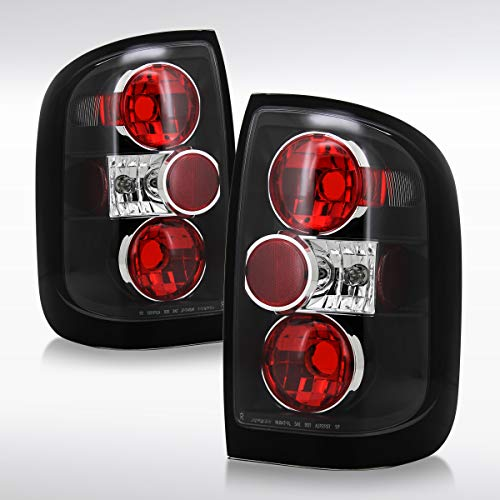 Autozensation For Nissan Pathfinder QX4 Altezza Black Tail Lights Rear Brake Lamp Pair