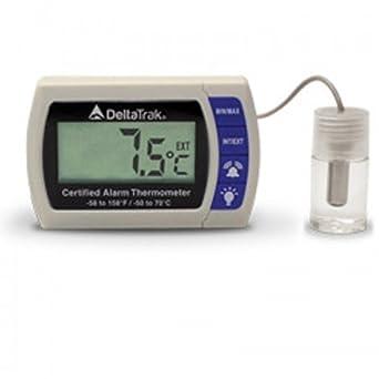 deltatrak 12215 Certificado alarma termómetro: Amazon.es ...