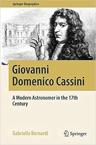 Giovanni Domenico Cassini: A M...