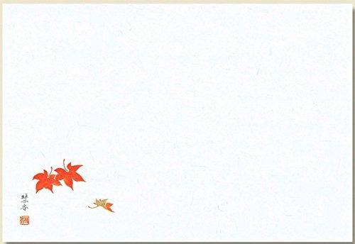Japanese Washi Paper Placemats Seasonal Flower Print Made in Japan by kagayaki
