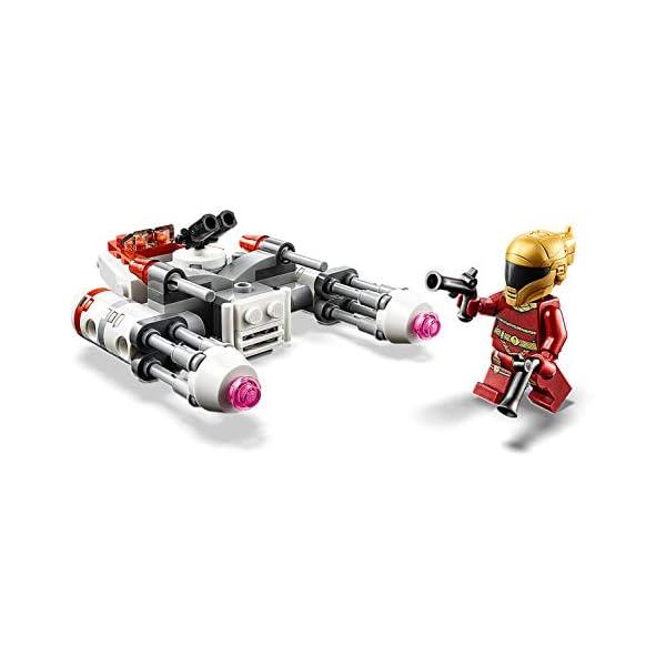 LEGO Star Wars - Microfighter Y-Wing della Resistenza con la Minifigure di Zorii Bliss con 2 Pistole Blaster, Set di… 2 spesavip