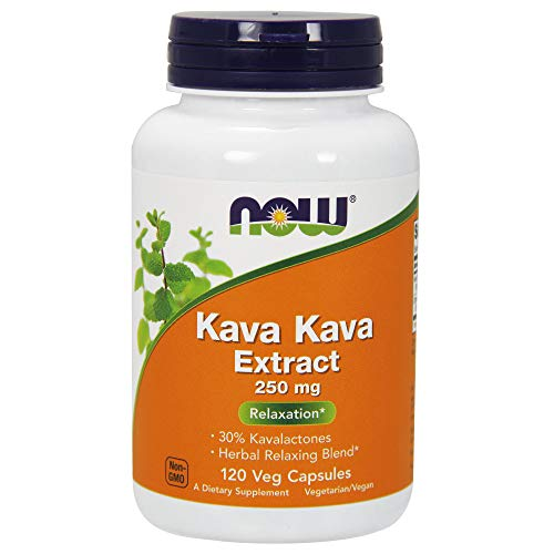 NOW Supplements, Kava Kava 250 mg, 120 Veg Capsules (Pills Kava Kava)