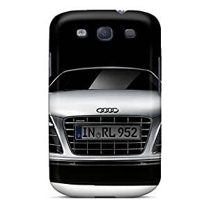 Samsung Galaxy S3 PIf16646JhJQ Unique Design Beautiful Audi R8 Pattern Bumper Hard Cell-phone Case -Marycase88