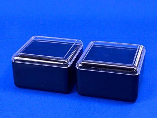 プラスチック碁笥 角箱