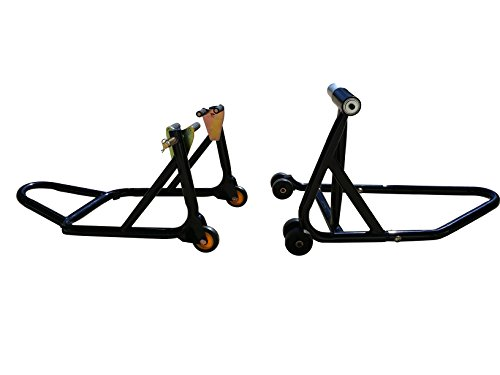 (Front Forklift and Rear Stand for Ducati 748, 848, 848 Streetfighter, 916, 996, 998, HyperMotard, 5 bolt rear axle models)