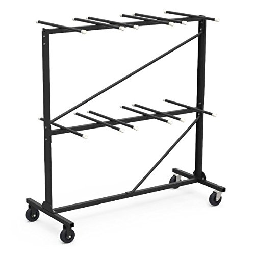 Virco Steel Activity Table (Steel Frame Chair Truck/Storage Cart for Metal Folding Chairs)