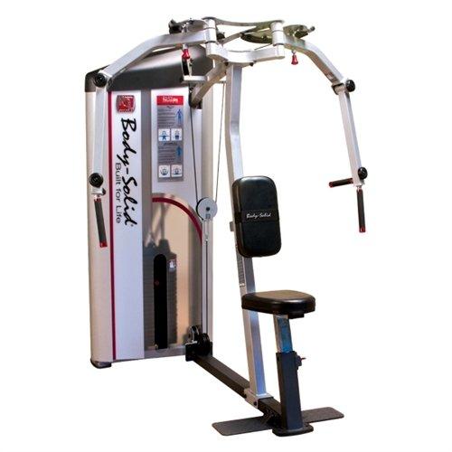 Body-Solid S2PEC/2 Pcl2 PEC Fly/Rear Delts 235lb Stack Machine (Best Rear Delt Exercises)