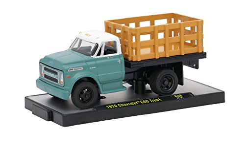 M2 Machines Auto-Trucks - 1970 Chevrolet C60 Truck - C60 Car