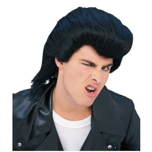 Rubie's Costume Guy's D.A. 50's Wig, Black, One (50's Costumes For Guys)