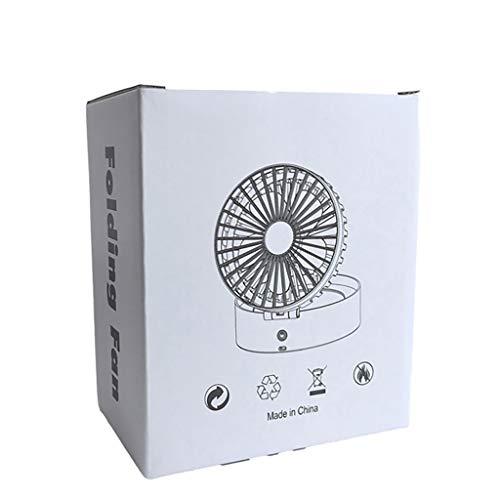 OrchidAmor Mini Handheld Fan Personal Portable Desk Stroller Table Fan Cooling Electric Fan 2019