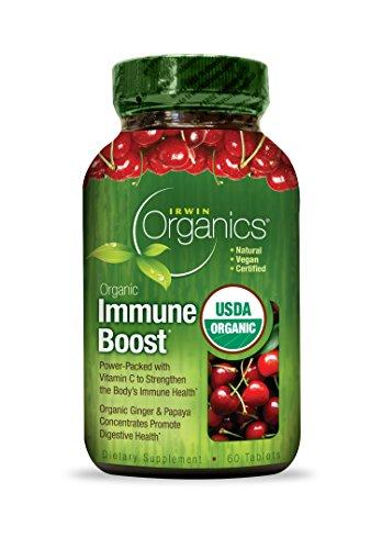 Ирвин Naturals Органическая диета Иммунная система Дополнение, 60 граф