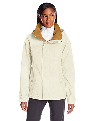 Burton Women's Jet Set Jacket, Canvas Fleck, Large -