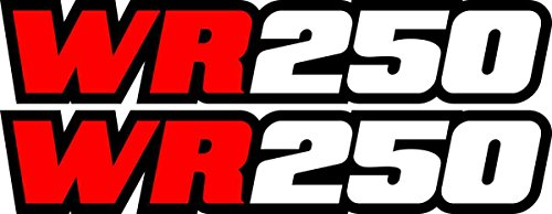 Yamaha Wr250 Red Swingarm Decals Sticker Wr 250 Dirtbike for sale  Delivered anywhere in USA
