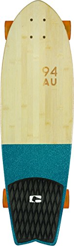 GLOBE HG Sun City Complete Skateboard, Half Dip Bamboo/Blue