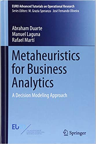 Metaheuristics for Business Analytics: A Decision Modeling