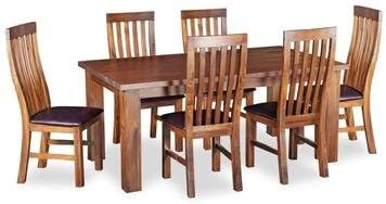 Global Home Tamworth Seven Piece Dining Set Amazon Co Uk Kitchen Home