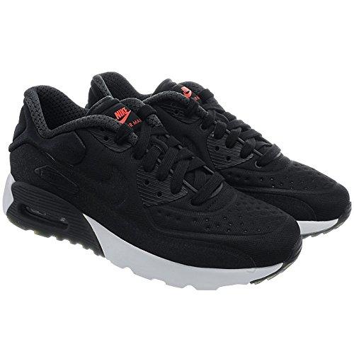 Nike Air Max 90 Ultra Prm (Gs), Zapatillas de Running Niños Negro (Black / Black-University Red-White)