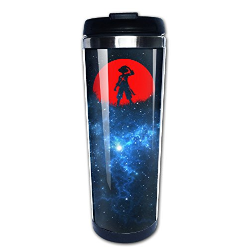 Red Moon Straw Hat One Piece Luffy Travel Tumbler