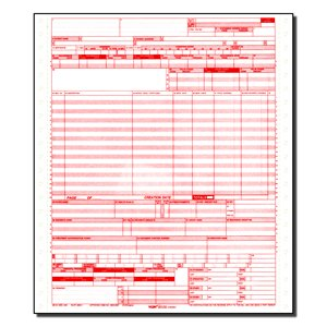 CMS 1450 / Ub04 Medical Billing Forms (5000 Sheets)