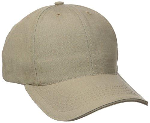 - Tru-Spec Ball Cap, Tru Kh P/C R/S, Adj, Sandwich Bill, Khaki, One Size